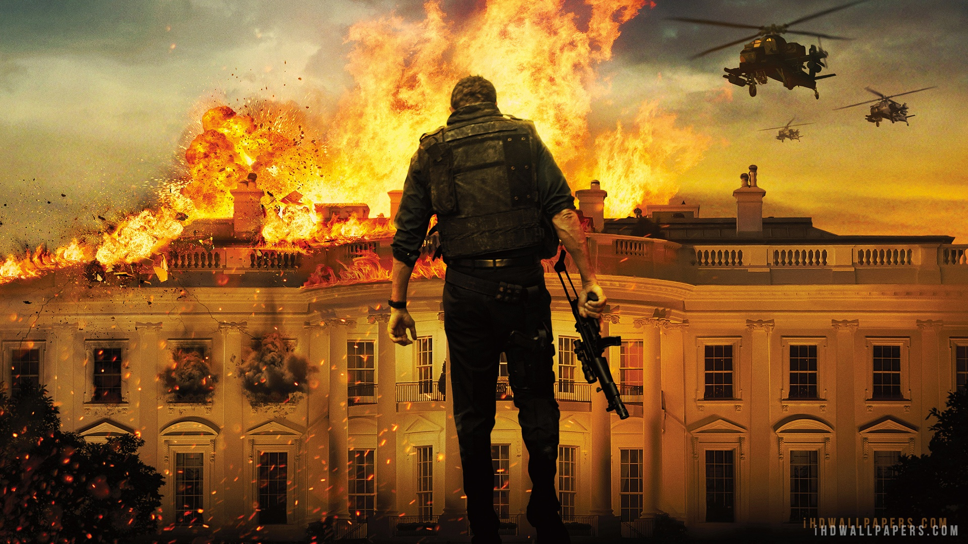 Olympus Has Fallen Movie HD Wallpaper   iHD Wallpapers 1920x1080