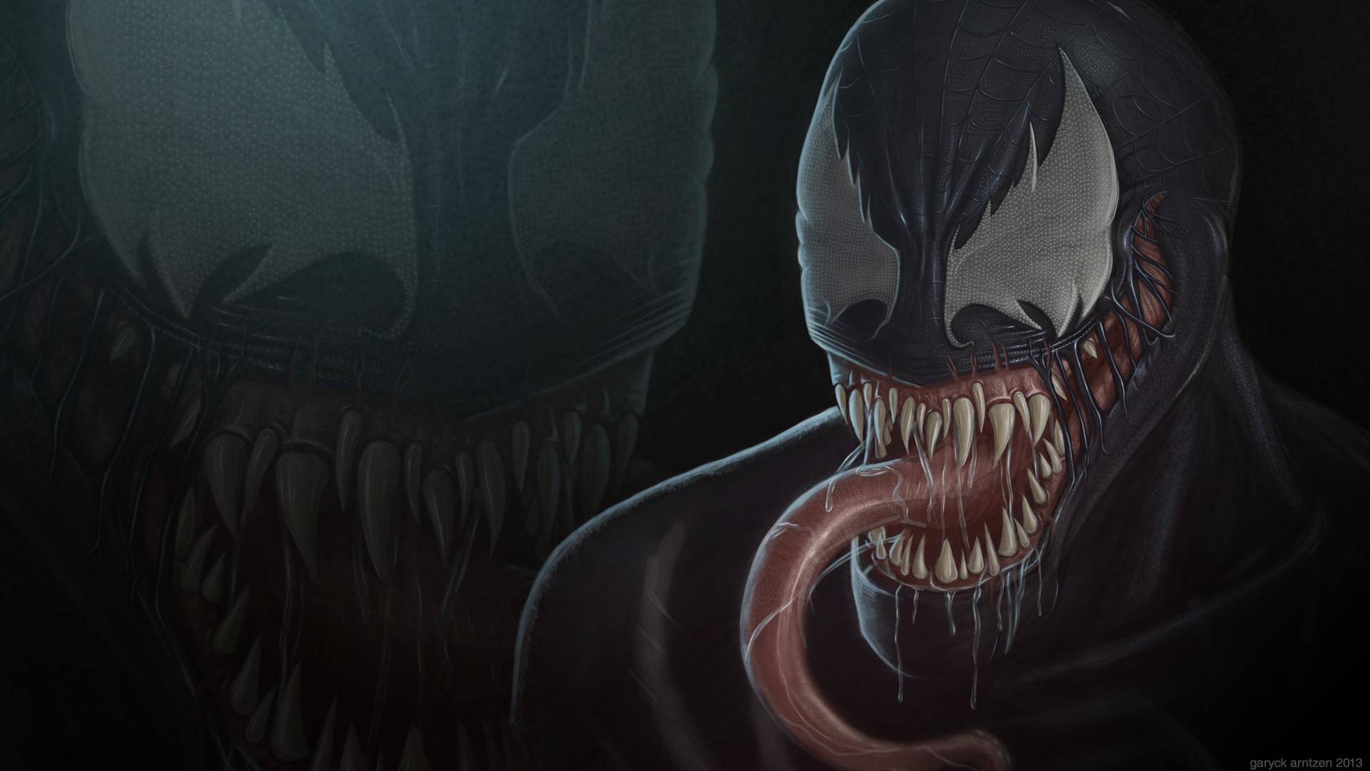 Comics   Venom Wallpaper 1920x1080