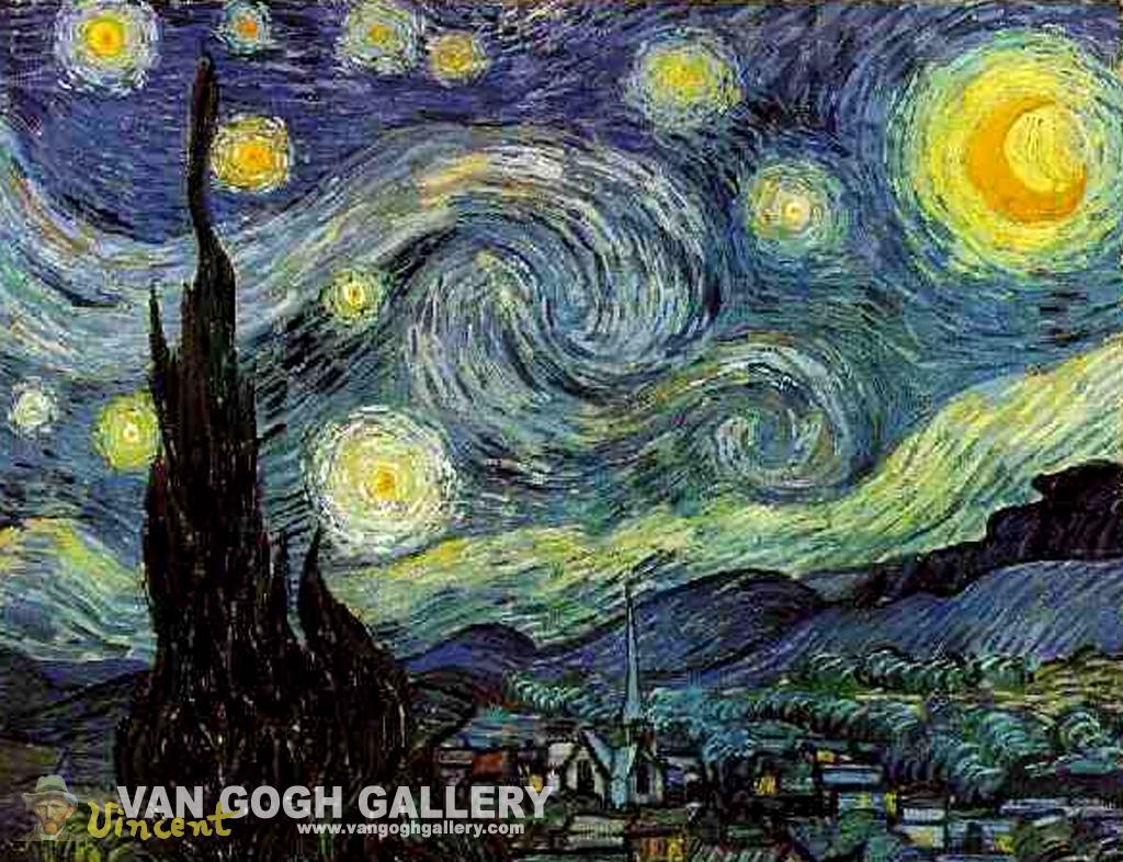 76 Starry Night Desktop Wallpaper On Wallpapersafari