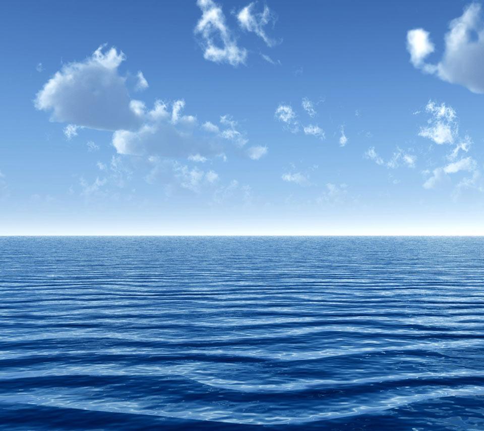 Blue Sea Wallpaper - WallpaperSafari