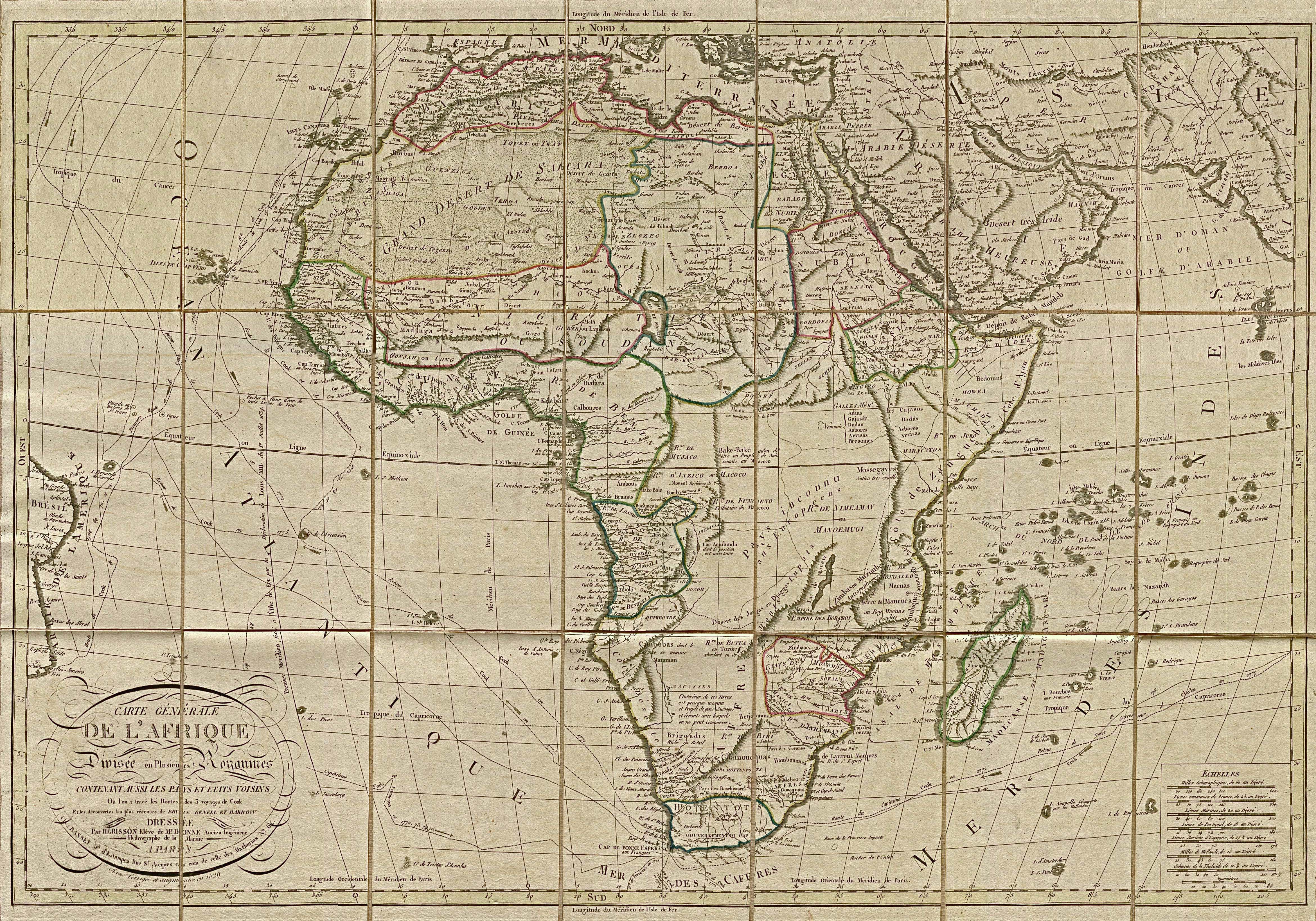 Africa Historical Maps   Perry Castaeda Map Collection   UT Library 4680x3277
