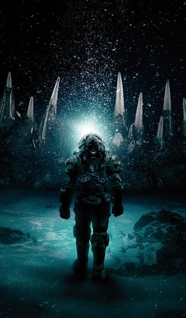 Download 600x1024 Underwater 2020 Horror Movies Suit Wallpapers 600x1024