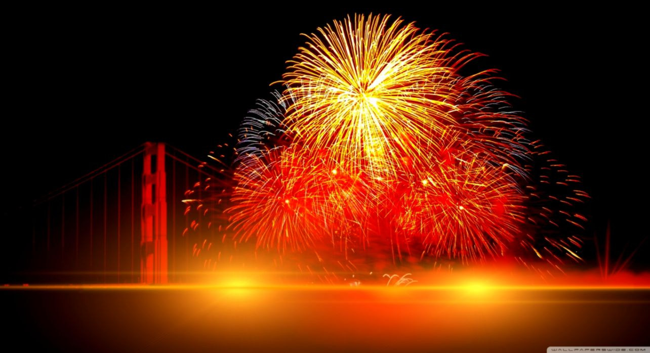 Happy New Year 2015 Firework Desktop Wallpaper Like Wallpapers 1284x698