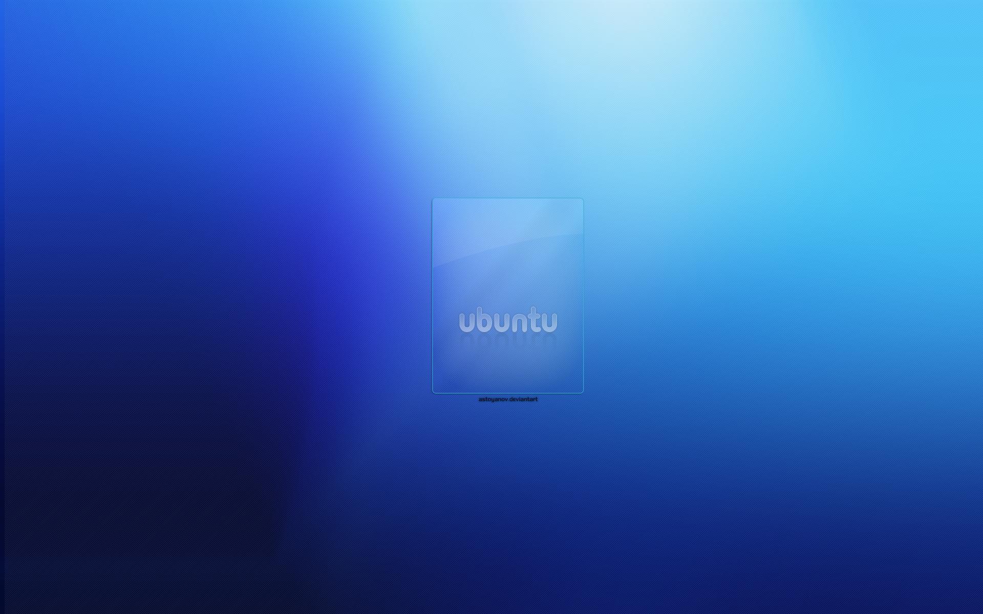 Blue Ubuntu Computer Computers 1920x1200 1920x1200