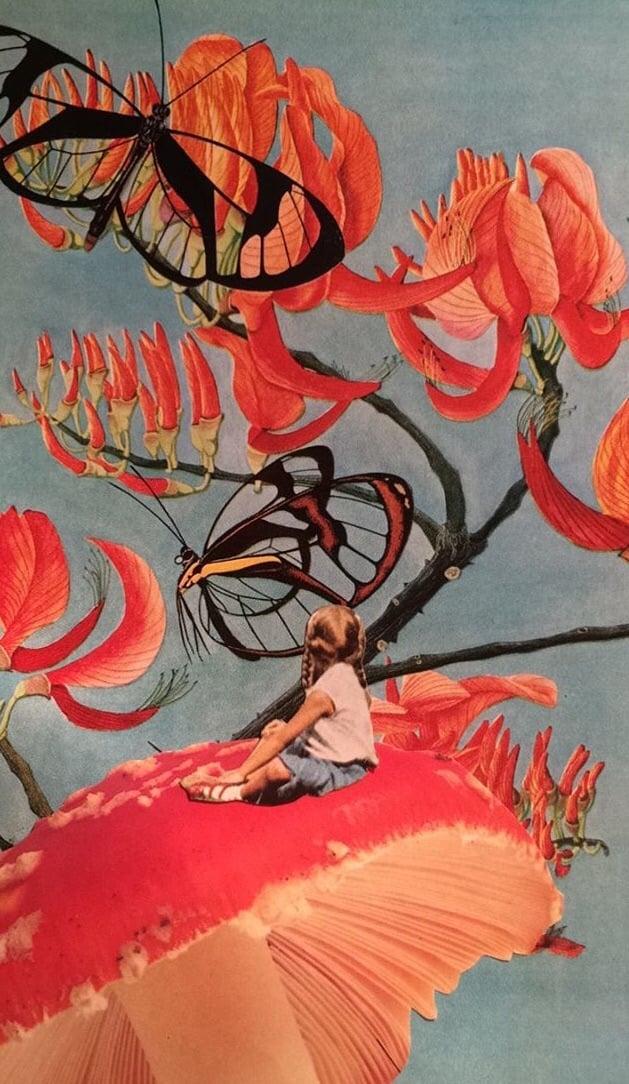Wallpaper girl beautiful retro aesthetic grunge hipster background 629x1084