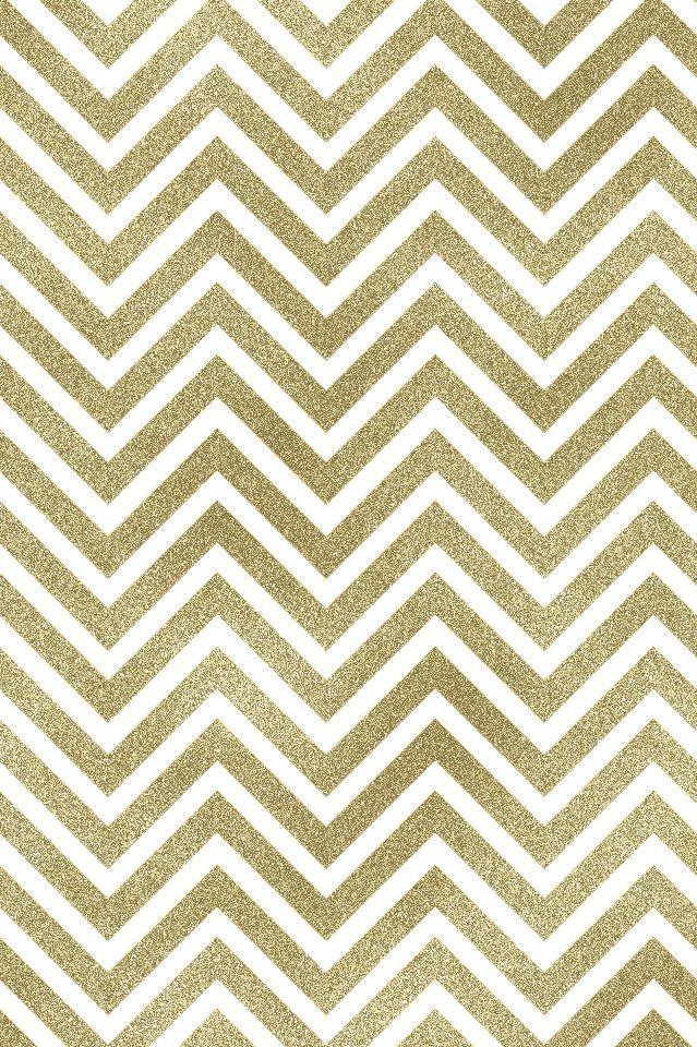 Gold Chevon iPhone Wallpaper Cute wallpapers Chevron 639x960