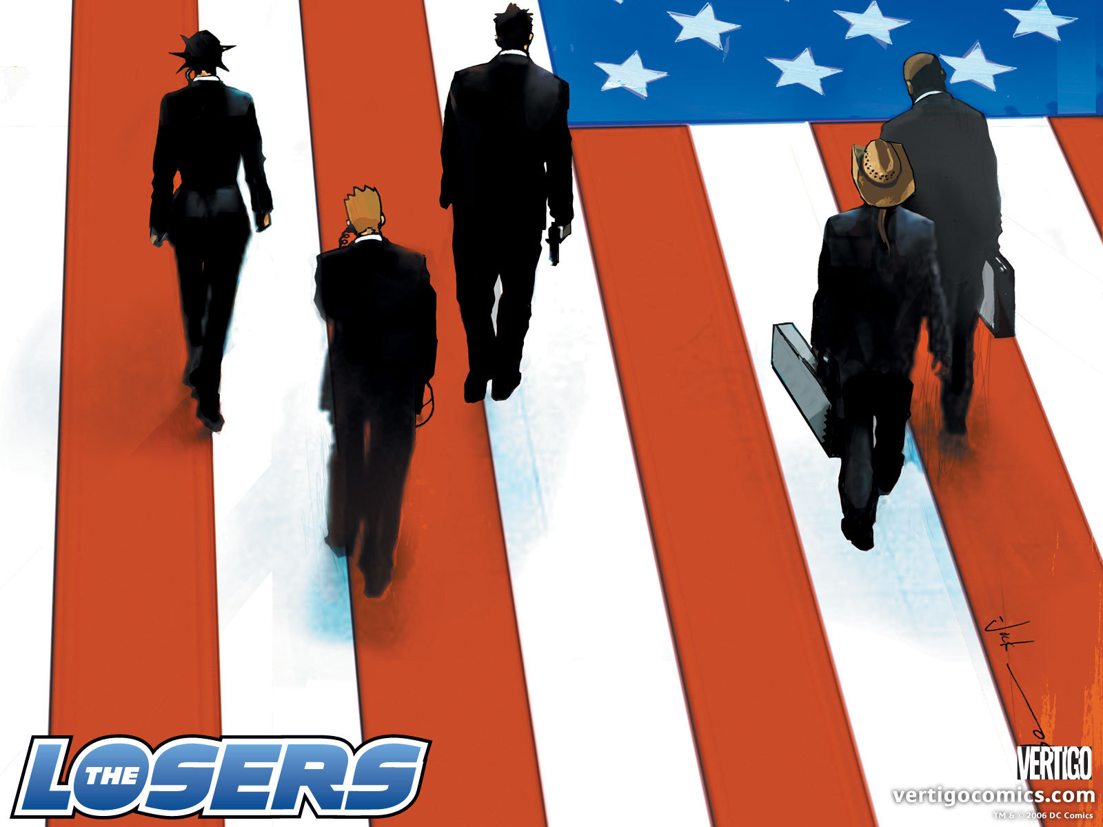 Vertigo Comics images The Losers Official Vertigo Wallpapers HD 1600x1200