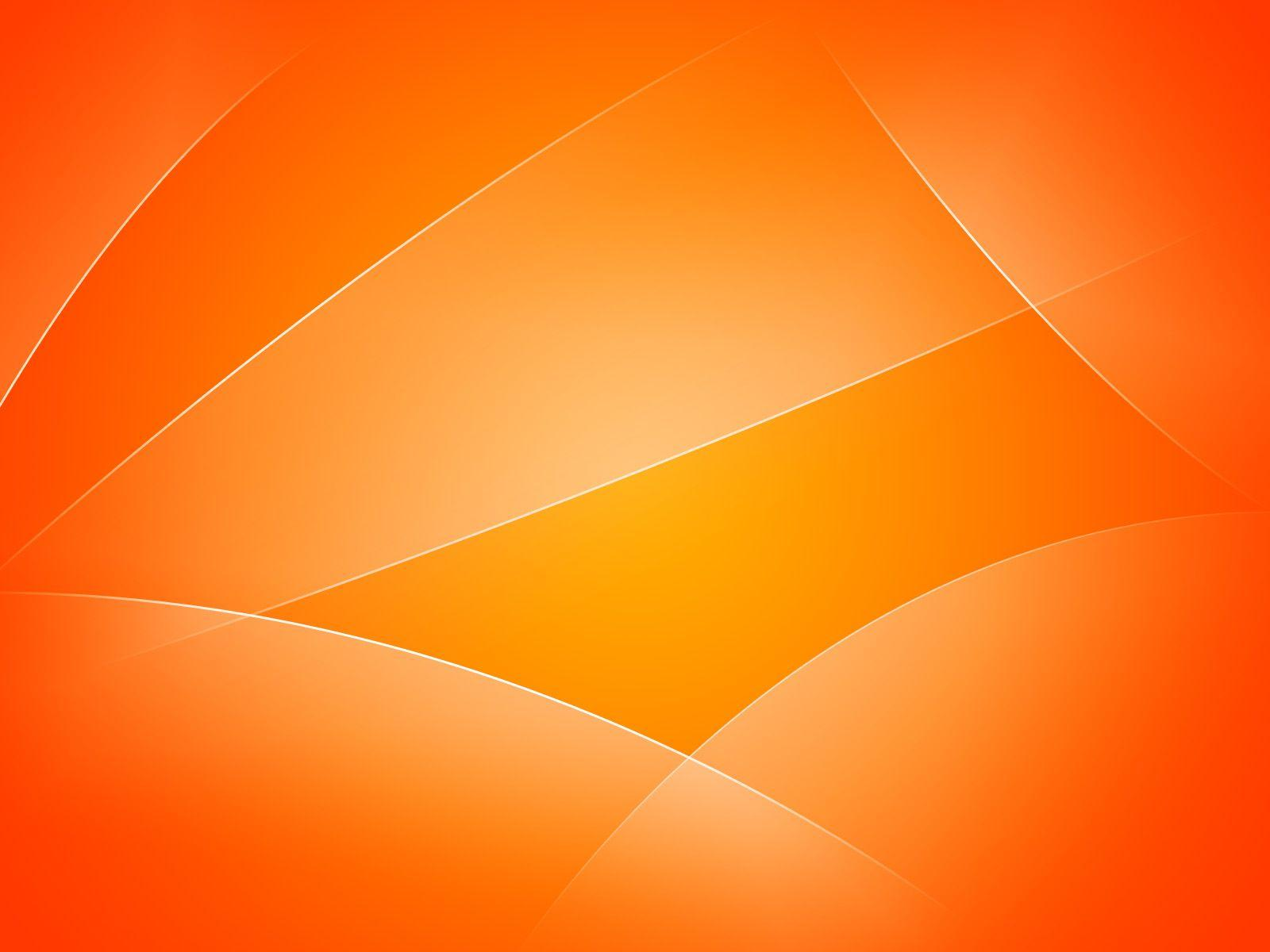 Cool Orange Backgrounds 1600x1200