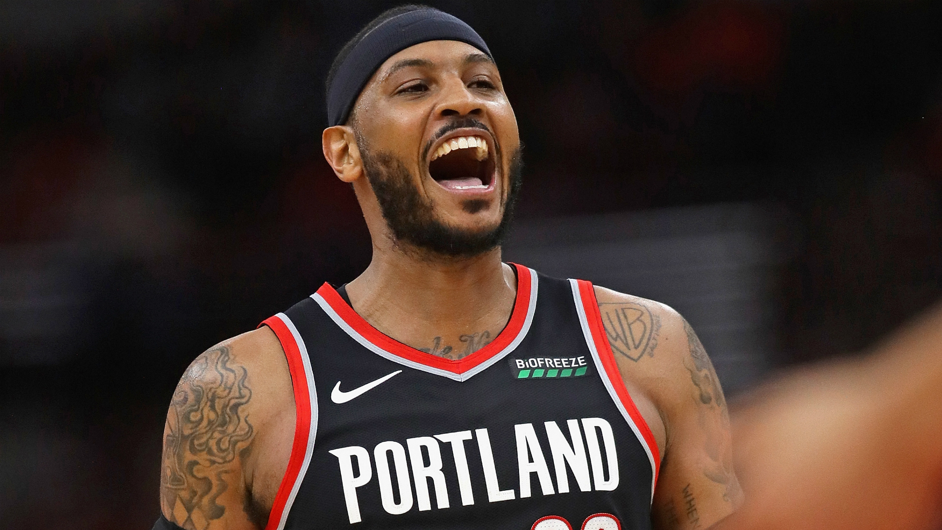 Carmelo Anthony has turned Trail Blazers run into much more than a 1920x1080