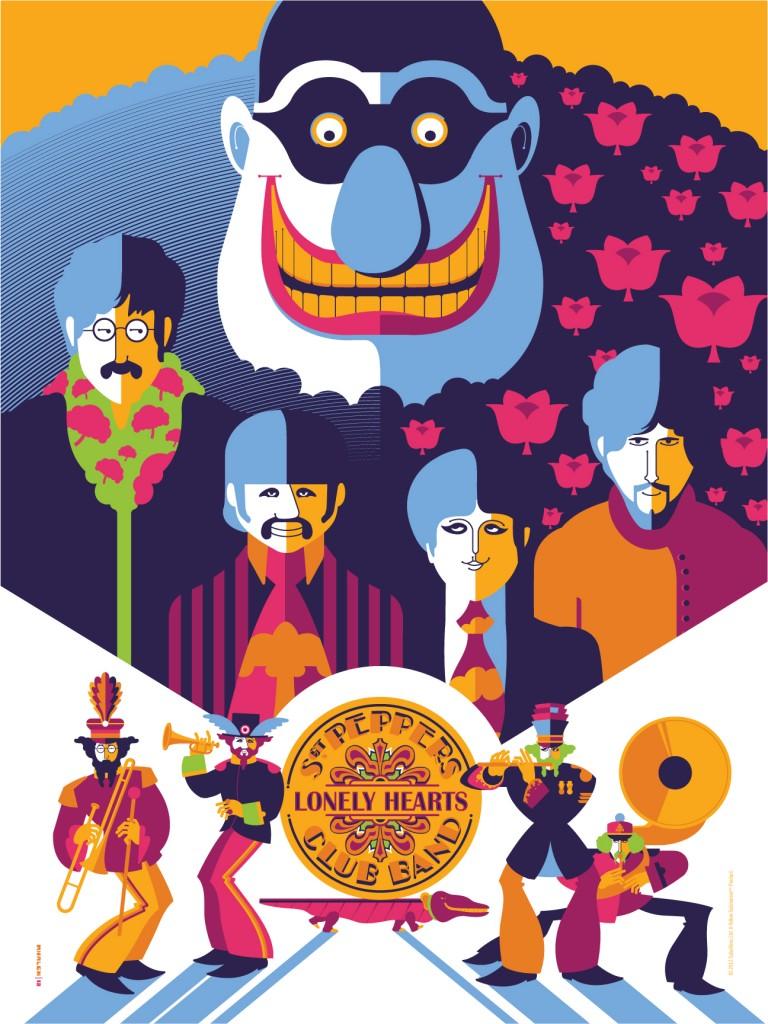 beatles yellow submarine wallpaper 768x1024
