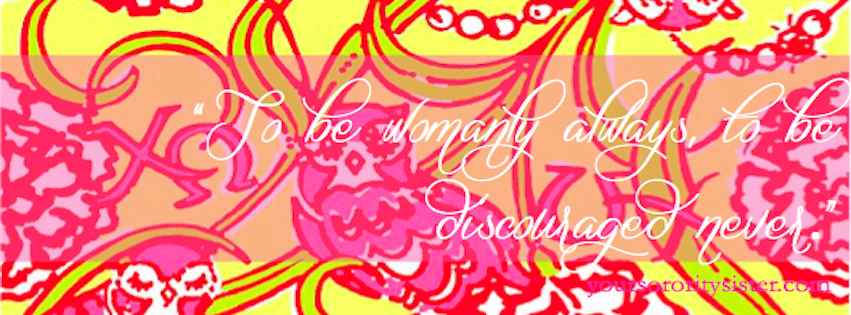 Facebook along with cover photos for Delta Gamma and Alpha Chi Omega 851x315
