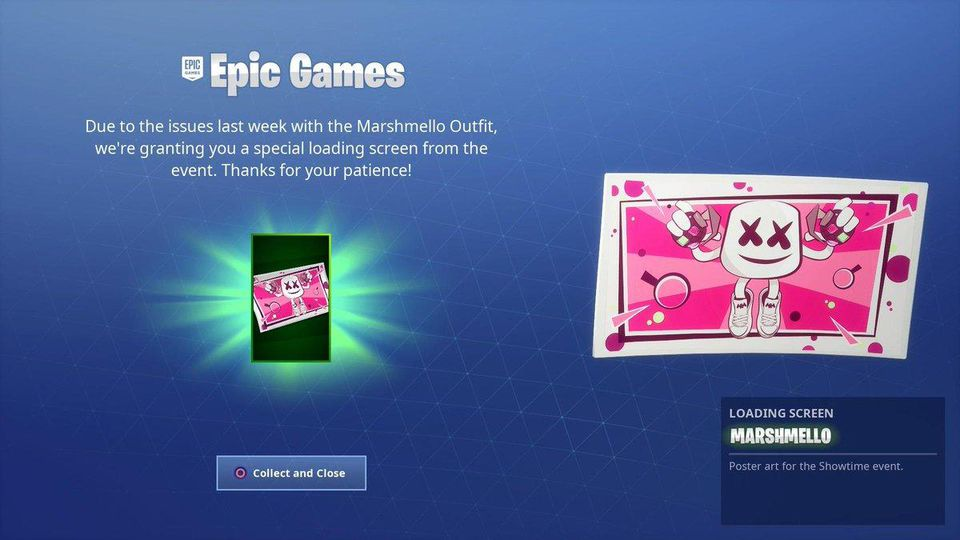 Fortnite Is Giving All Marshmello Skin Owners Something If 960x540