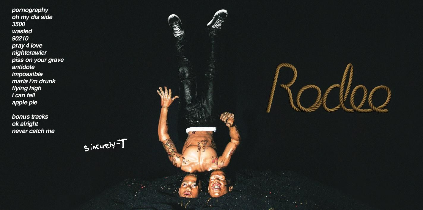 download Digital Booklet Rodeo GOAT Travis scott rodeo Travis 1423x706