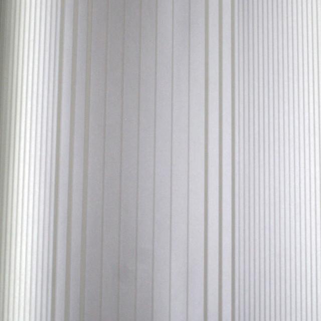 Living Oxford Stripe Silver and White Wallpaper contemporary wallpaper 640x640