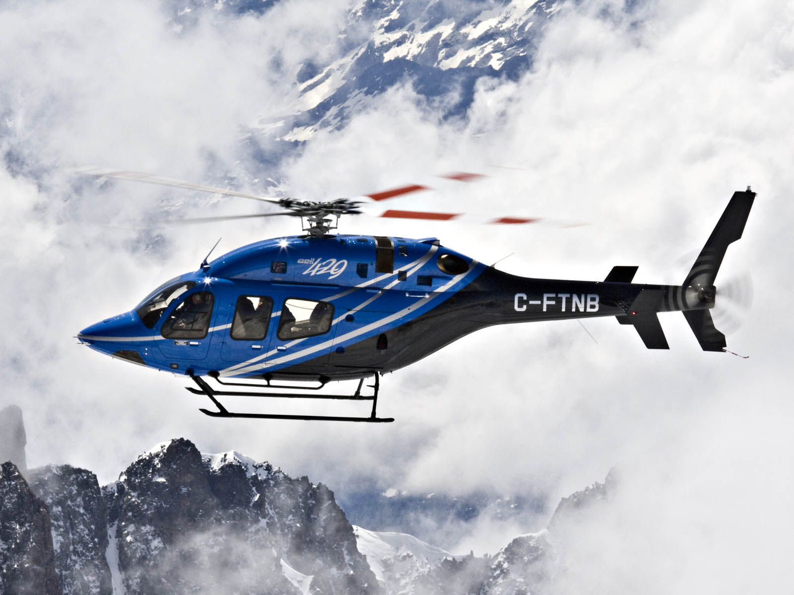 Bell 429 GlobalRanger Helicopter Wallpapers Images Photos Pictures 1600x1200