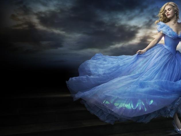 Wallpaper Cinderella 2015 Lily James   Photos and Walls 630x473