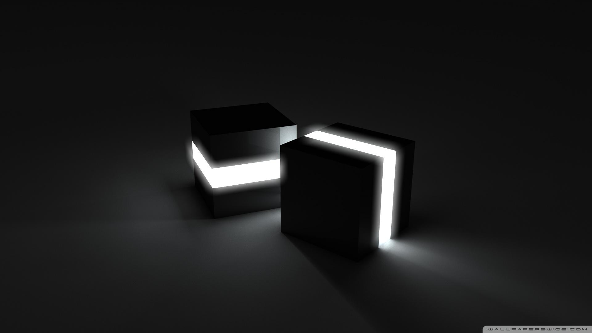 Black Cubes 2 Wallpaper 1920x1080 Black Cubes 2 1920x1080