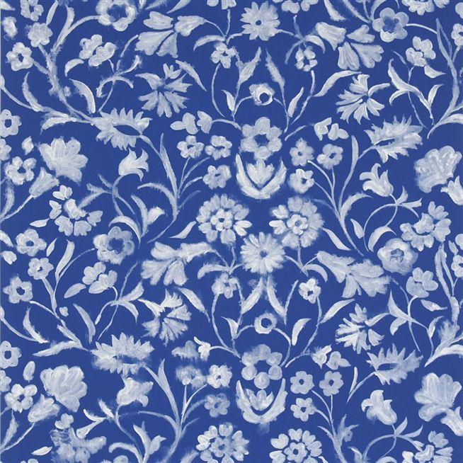 yukata   cobalt wallpaper Designers Guild 654x654