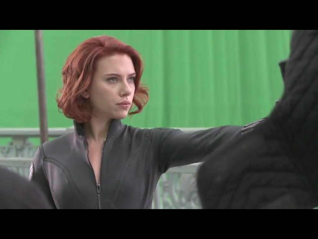 Scarlett Johansson Avengers Black Widow 1024x768
