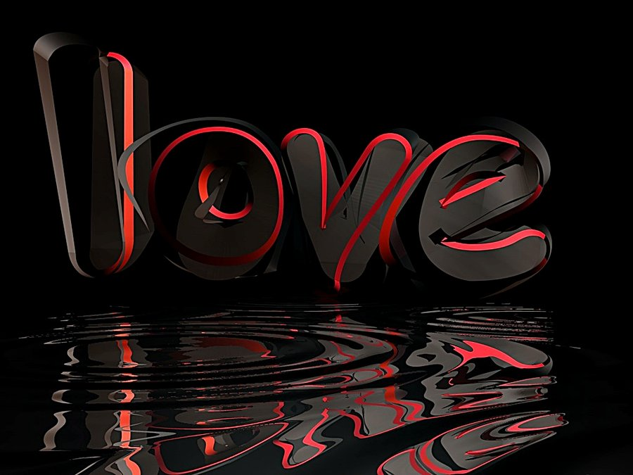 Wallpaper Love You 3d : 3D Love Wallpaper - WallpaperSafari