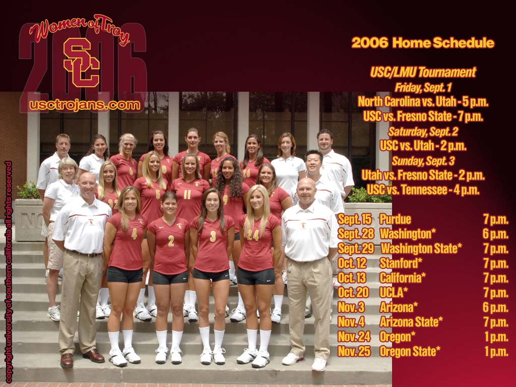 Desktop Wallpaper Usc Trojans 1024x768