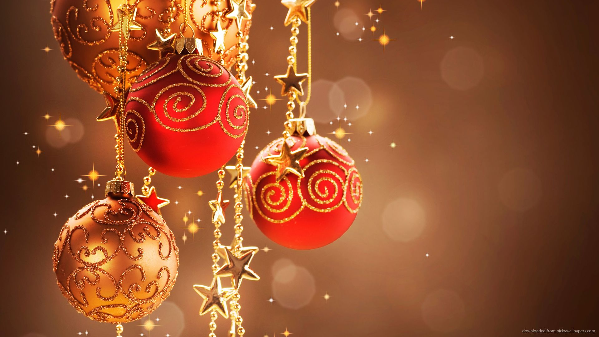 Download 1920x1080 Christmas Decorations Ultra HD Wallpaper 1920x1080