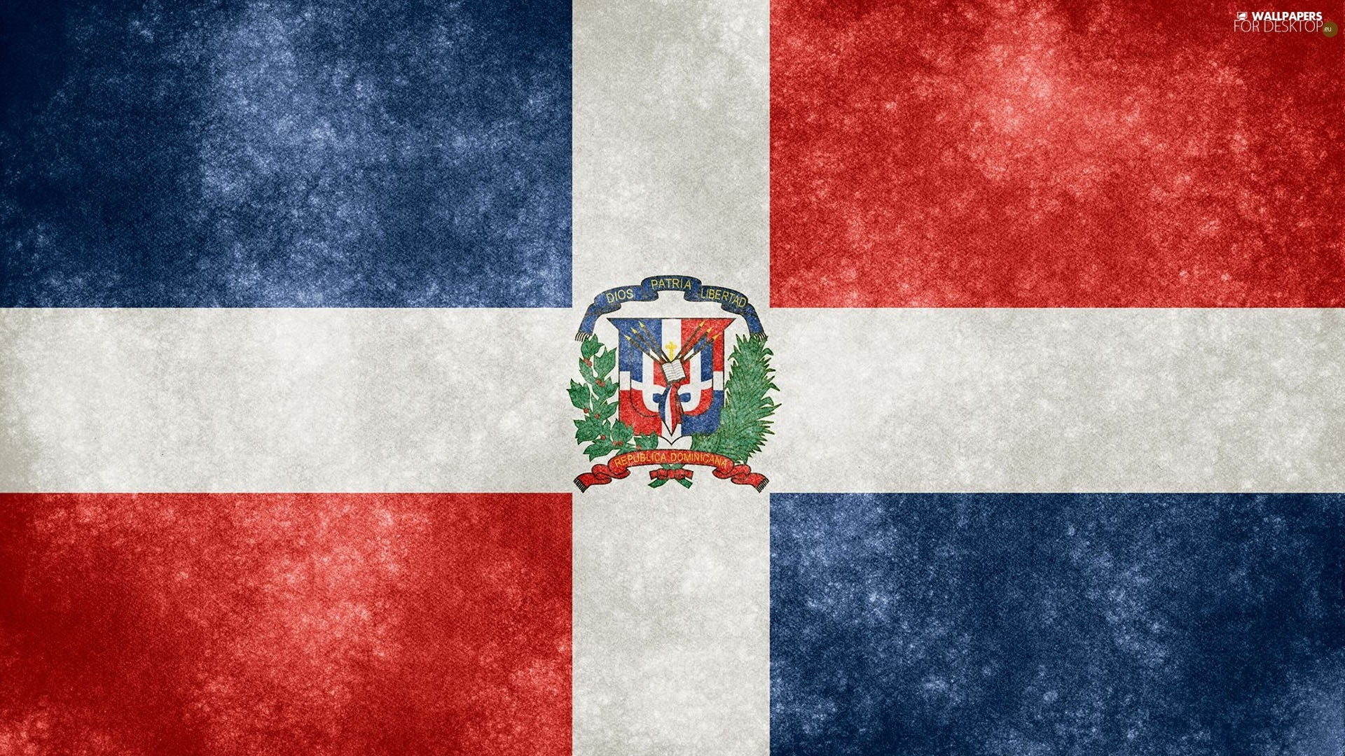 Dominican flag wallpaper   SF Wallpaper 1920x1080