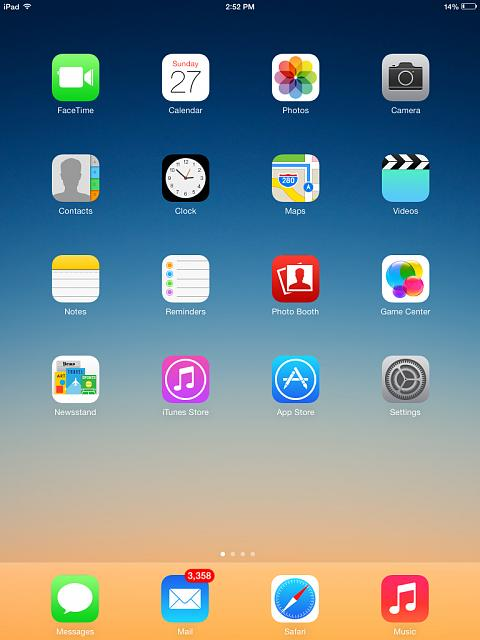 Show us your iPad Mini Lock and Home screen   Page 8   iPhone iPad 480x640