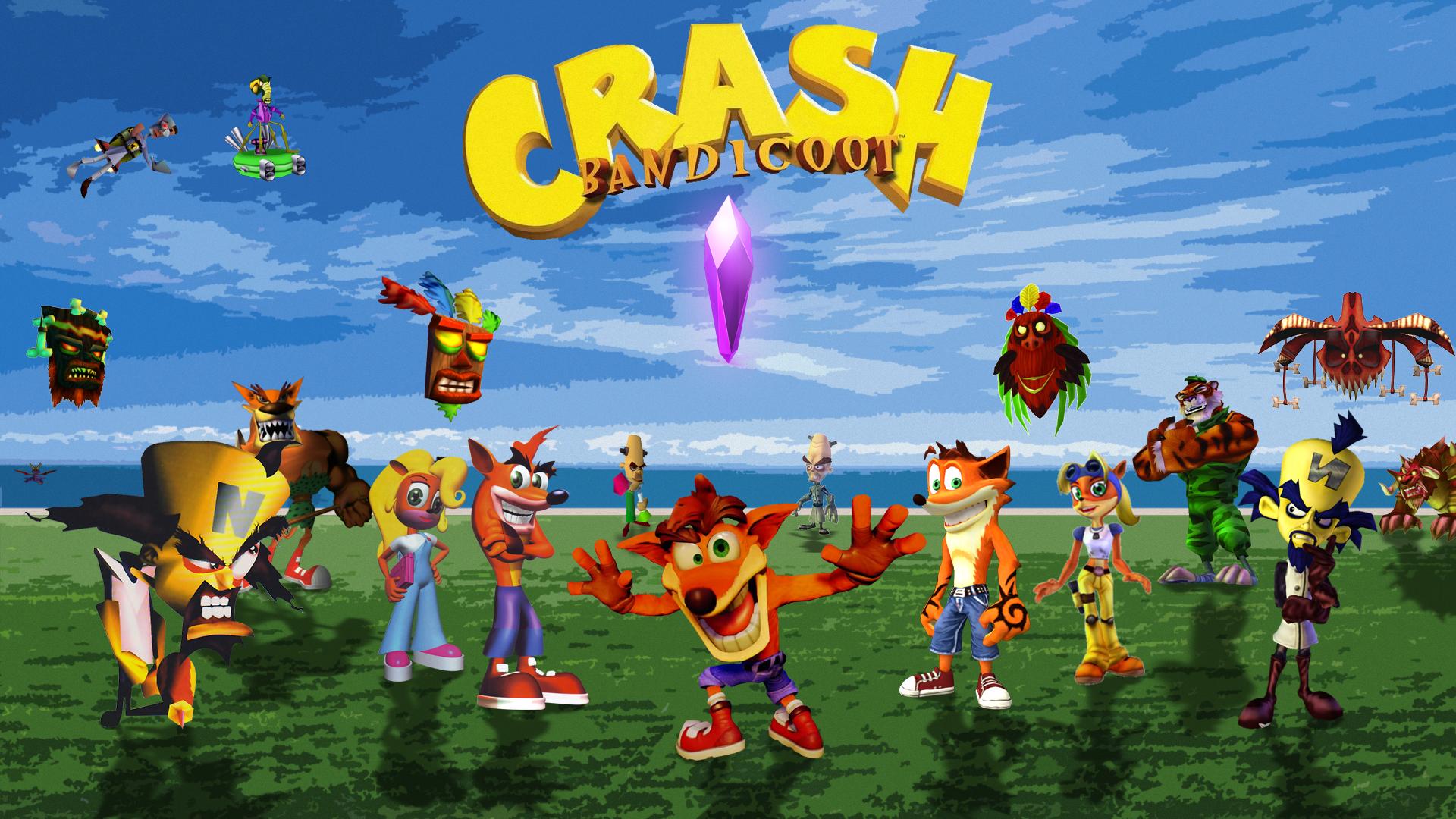 Crash Bandicoot Background   Imgur 1920x1080
