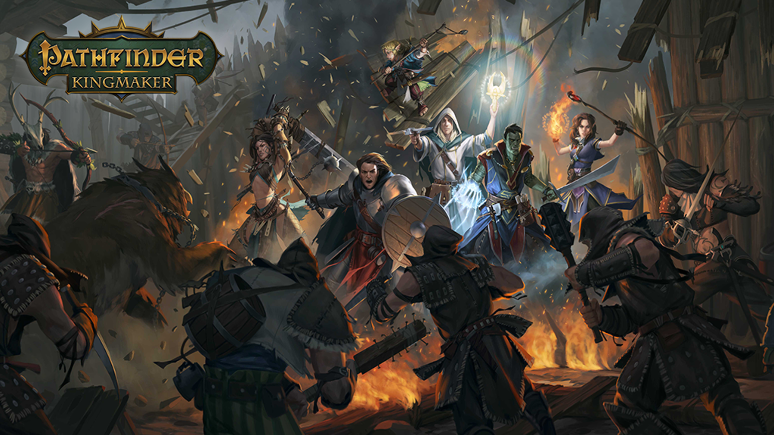 Pathfinder Kingmaker by Owlcat Games Kickstarter 1552x873