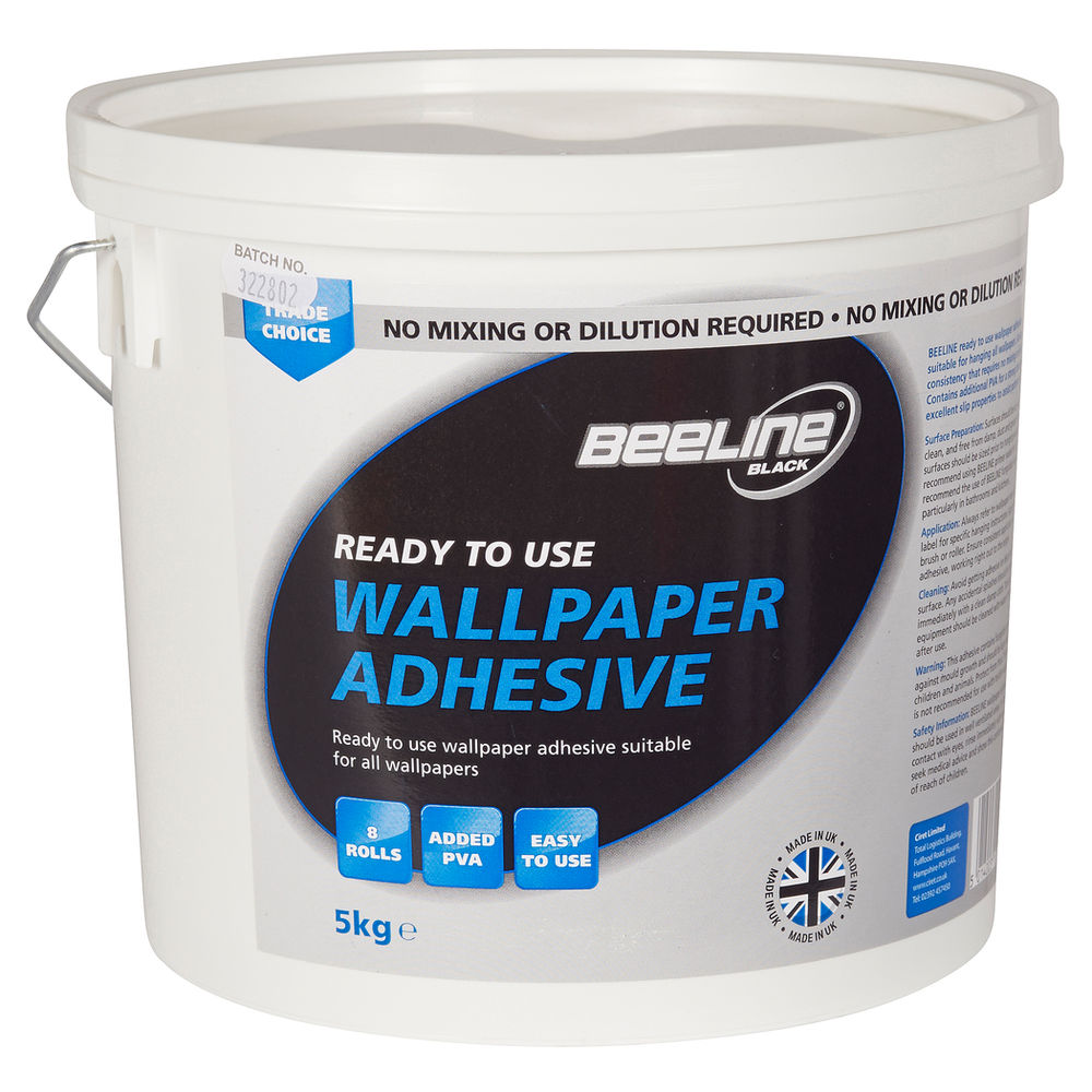 To Use Mixed Paste Wallpaper Adhesive 5kg   Masters Home Improvement 1000x1000
