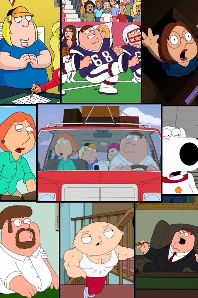 background Family Guy from category cartoons wallpapers for iPhone 640x960
