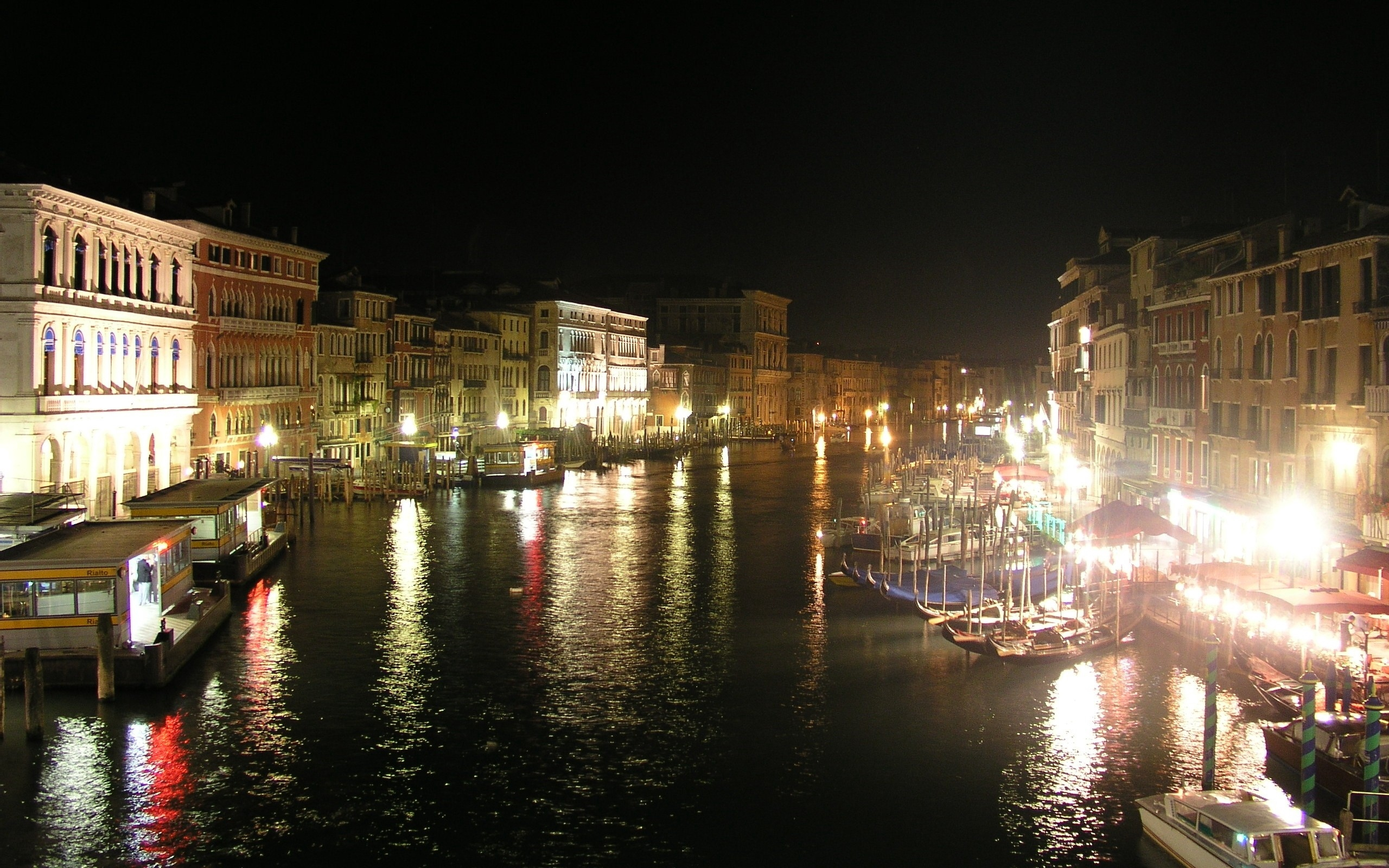 Venice Italy Night   Stock Photos Images HD Wallpaper HD 2560x1600