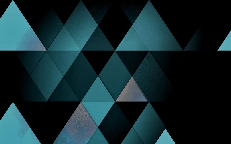 Triangle Geometric Design Wallpaper 2880x1800