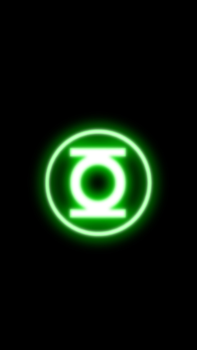 Green Lantern Logo iPhone 5 wallpapers Background and Wallpapers 640x1136