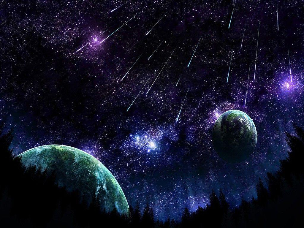 Shooting Star Wallpapers 1024x768