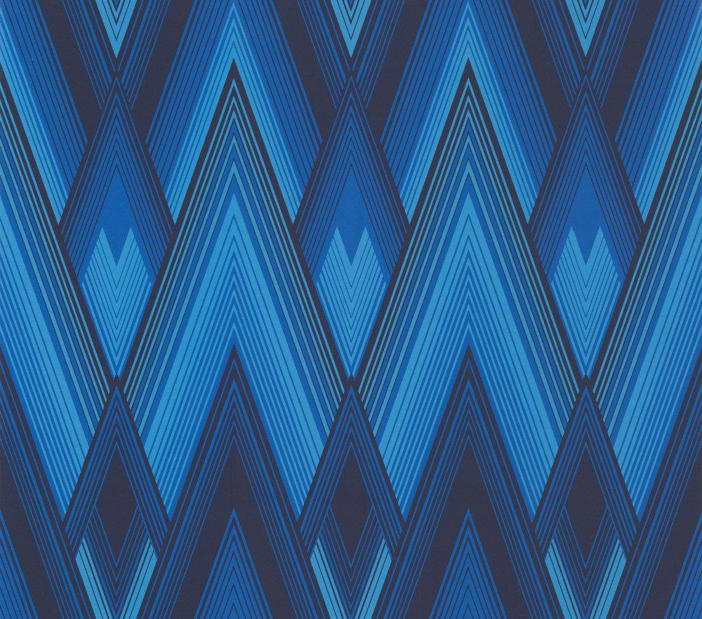 Astoria by Osborne Little   Navy   Wallpaper Wallpaper Direct 1000x882