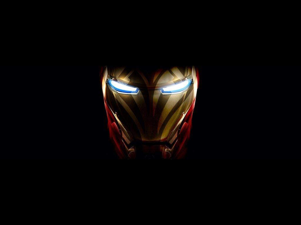 Iron Man Mask HD by kfcloverz 1024x768