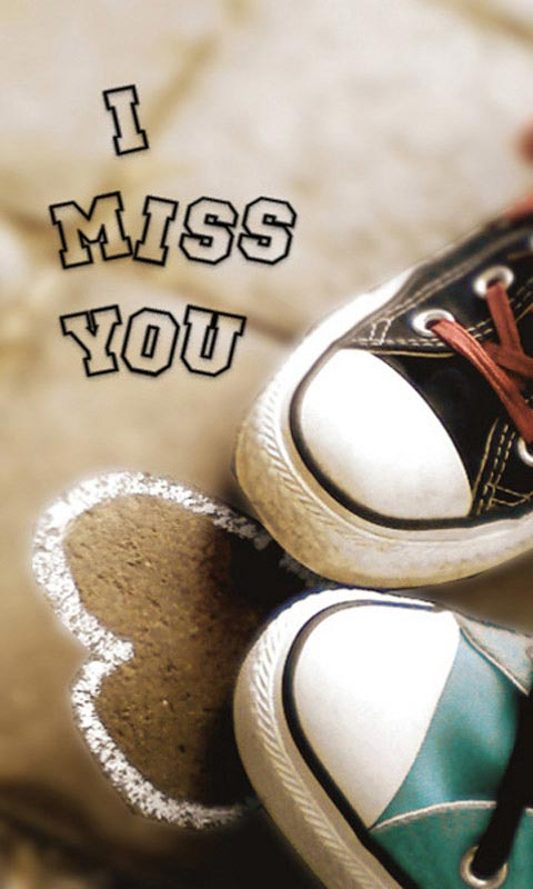 miss u wallpapers i miss you wallpapers miss u wallpapers love 480x800