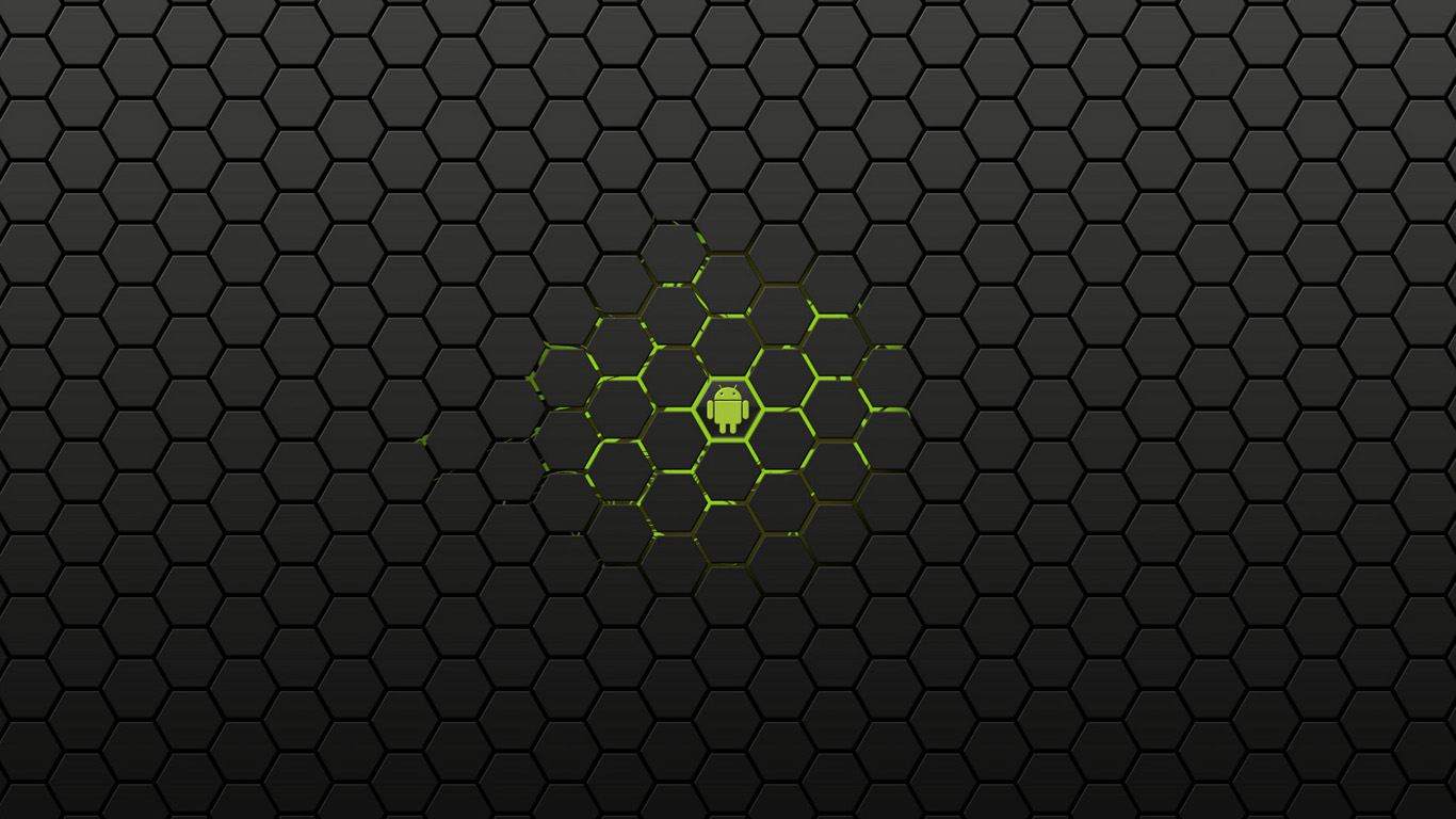 Black Background Android Image 20505 Wallpaper High Resolution 1366x768