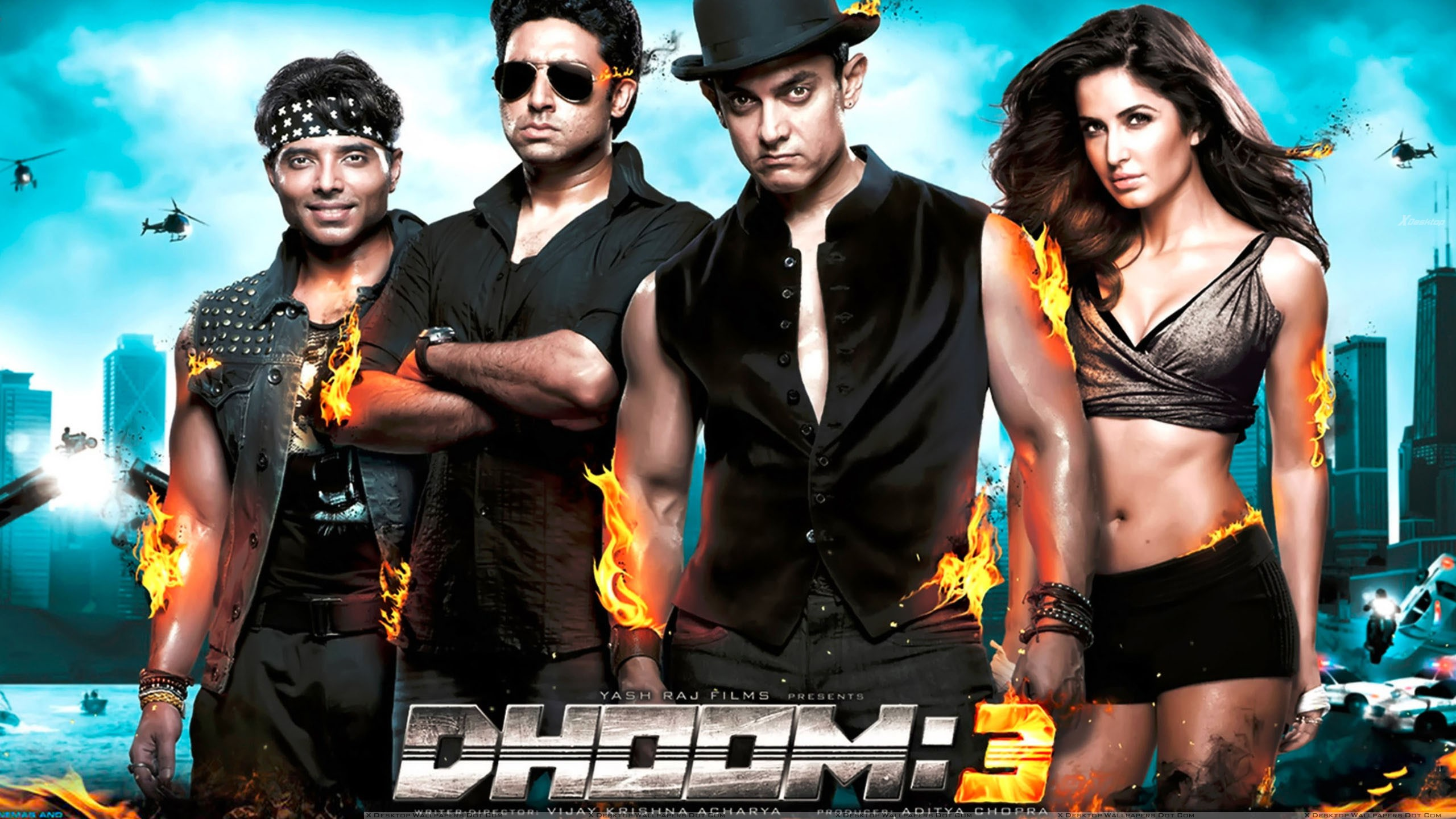 You Are Viewing Wallpaper   Dhoom 2 Aamir Khan 1613975   HD 2560x1440