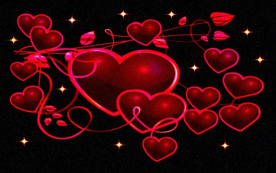 corazones de color rojo oscuro wallpaper   ForWallpapercom 969x606