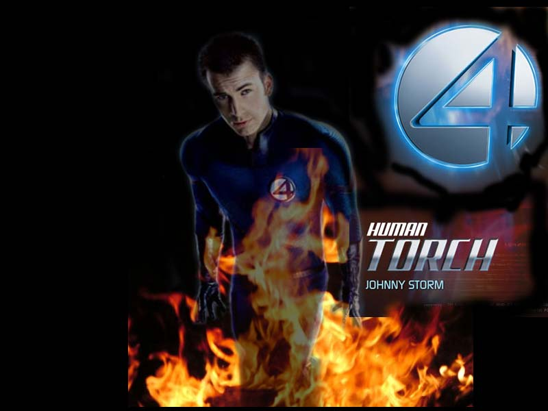 Superhero Wallpapers Human Torch Cartoon And Movie Gallery 800x600