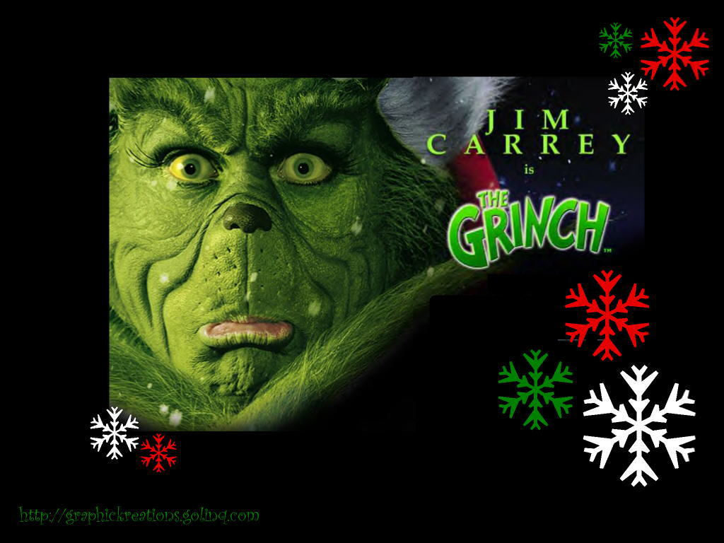 How The Grinch Stole Christmas Wallpaper   Christmas Cartoon 1024x768