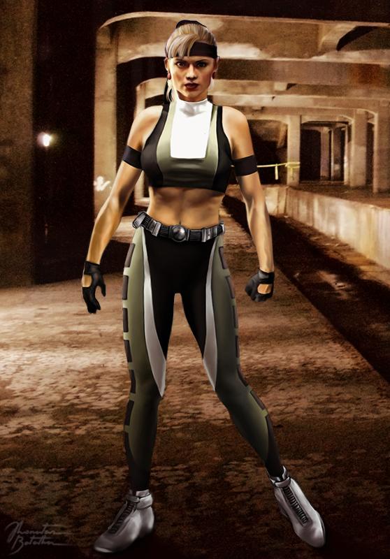 46 Mortal Kombat Sonya Blade Wallpaper On Wallpapersafari