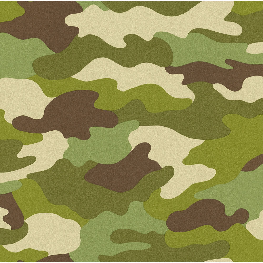 Rasch Camouflage Green 222821 at wilkocom 1000x1000