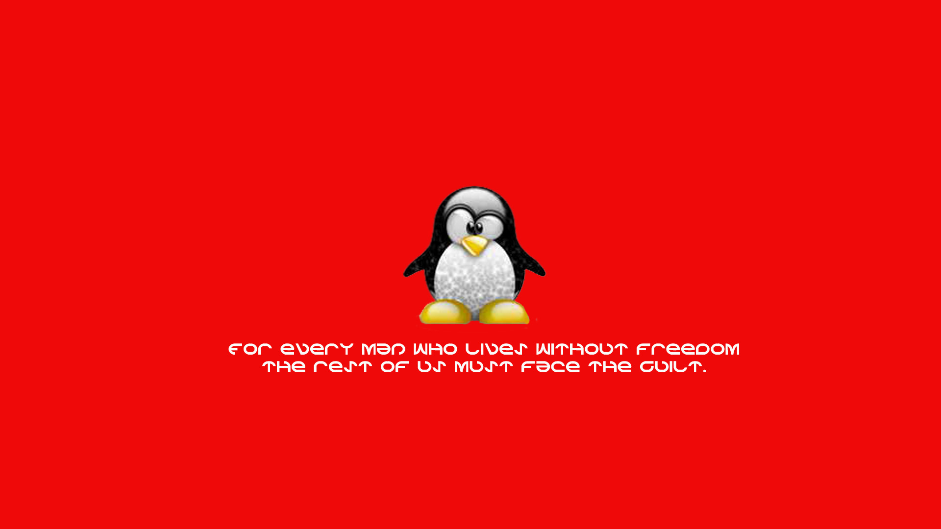 Linux HD Pictures Wallpapers HD Tux Desktop8032 Linux HD Wallpapers 1920x1080