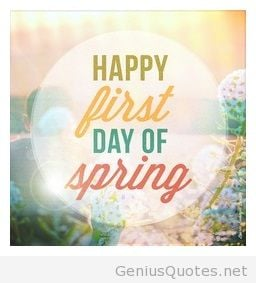 Happy first day of Spring 2014 256x283