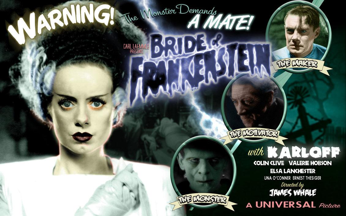 Bride of Frankenstein Wallpaper by Duncecap Dan 1130x707