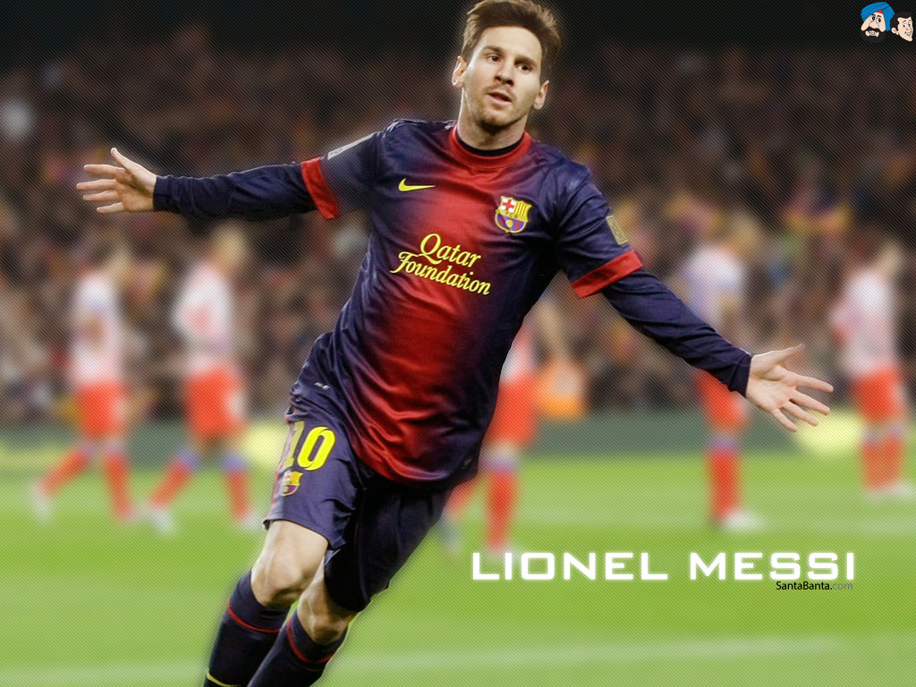 Lionel Messi 1024x768